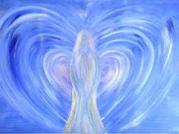 Webinar: Neumond/Heilung von Angst,  Halschakra, Lichtkraftspirale,   mit  Erzengel Michael