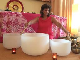 Webinar: Neumond Kristall - Klangschalen Meditation