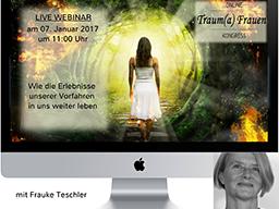 Webinar: Traum(a)-Lebenskraft Kongress: Epigenetik: Wie (traumatische) Erlebnisse unserer Vorfahren heute in uns wirken
