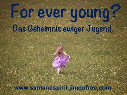 Webinar: For ever young?