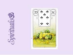 Webinar: ૐ  23 DIE MÄUSE  ૐ    Themenreihe:  Meine spirituelle Reise durch das Lenormand- Karten-Deck!