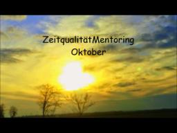 Webinar: ZeitqualitätMentoring Oktober