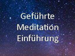 Webinar: Einführung in die geführten Meditationen
