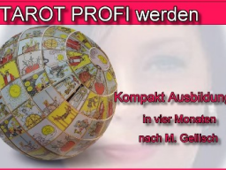 Webinar: Tarot Profi werden -8- nach M. Gellisch
