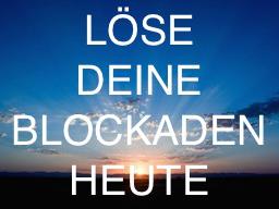 Webinar: Blockadenlösung in Trance