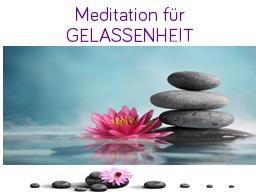 Webinar: Meditation für Gelassenheit