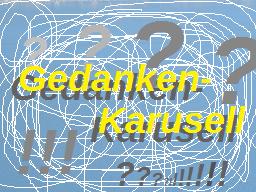 Webinar: Gedanken-Karusell?!? *Aufzeichnung*