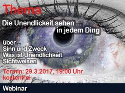 Webinar: Gast Henrik Geyer: Die Unendlichkeit ist in allem