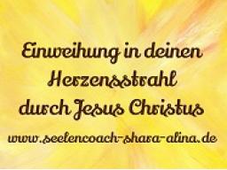 Webinar: Einweihung in den Herzensstrahl durch Jesus Christus
