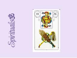 Webinar: ૐ  11 DIE RUTEN ૐ     Themenreihe:  Meine spirituelle Reise durch das Lenormand- Karten-Deck!