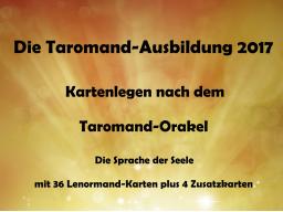 Webinar: Kartenlegen Info-Veranstaltung: Die Taromand-Ausbildung 2017 - Kartenlegen nach dem Taromand-Orakel