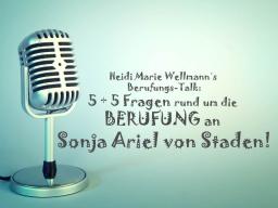 Webinar: Heidi Marie Wellmann´s Berufungs-Talk mit Sonja Ariel von Staden!