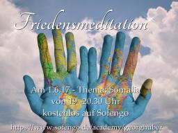 Webinar: Friedensmeditation - Heilung und Frieden für Mutter Erde und uns - mit Heilsegen für Mutter Erde