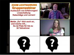 "Webinar: ""SANFTE WEGE"" zur Lichtnahrung NEU AUSTAUSCH"