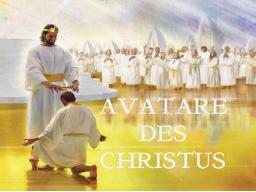 Webinar: CHRISTUSAVATARE