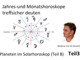 Webinar: Neue Astrologie Teil 3