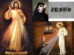 Webinar: Die Heilige Maria Faustyna und der Barmherzige Jesus