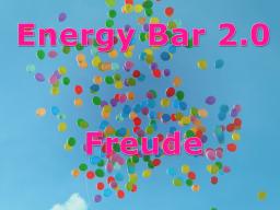 Webinar: Energy Bar 2.0 - Freude