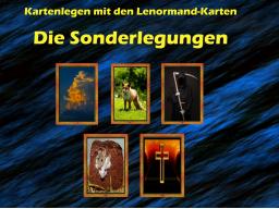Webinar: Die Sonderlegungen - Kartenlegen mit den Lenormand-Karten - für Fortgeschrittene