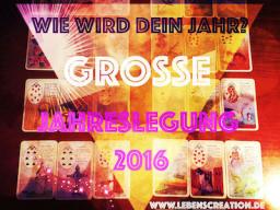 Webinar: Große, sehr ausführliche Jahreslegung 2017 - Einzelberatung