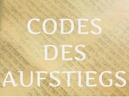 Webinar: CODES DES AUFSTIEGS Update