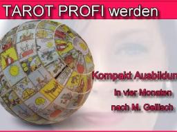 Webinar: Tarot Profi werden -2- nach M.Gellisch