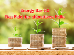 Webinar: Energy Bar 2.0 - Das Feld der ultimativen Fülle