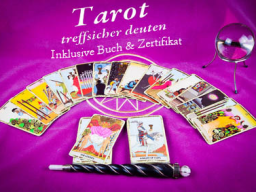 Webinar: INFO Abend: Tarot Ausbildung inklusive Buch & Zertifikat