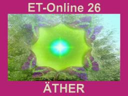 Webinar: ET26 Himmel+Erde ÄTHER