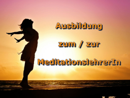 Webinar: Ausbildung zum/zur MeditationslehrerIn - Modul 2