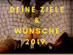 Webinar: Info: DEINE Ziele, Wünsche oder Träume für 2019 systemisch aufgestellt!