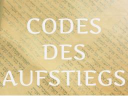 Webinar: CODES DES AUFSTIEGS