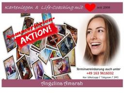 Webinar: Sommerferien-Angebot ❤ 60 min Kartenlegen & Life-Coaching mit ❤