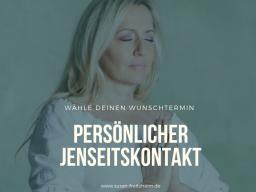 Webinar: persönlicher Live  JENSEITSKONTAKT