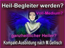 Webinar: medialer Heil-Begleiter werden -3- nach M. Gellisch