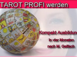 Webinar: Tarot Profi werden - 21 - nach M. Gellisch