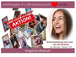 Webinar: nur noch bis 23.08.: Sommerferien-Aktion ❤ 30 min Kartenlegen & Life-Coaching mit ❤