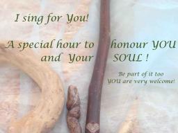 Webinar: Soundhealing, an inspiring and healing time for you. Seelengesangstunde für dich!