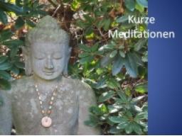 Webinar: Kurze Meditation am Morgen