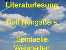 Webinar: Literaturlesung: Spirituelle Weisheiten