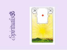 Webinar: ૐ  31 DIE  SONNE ૐ     Themenreihe:  Meine spirituelle Reise durch das Lenormand- Karten-Deck!