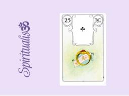 Webinar: ૐ  25 DER RING ૐ    Themenreihe:  Meine spirituelle Reise durch das Lenormand- Karten-Deck!