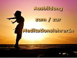 Webinar: Ausbildung zum/zur MeditationslehrerIn - Modul 1