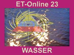 Webinar: ET23 Himmel+Erde WASSER