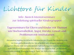 Webinar: Lichttore für Kinder - spirituelle Begleitung