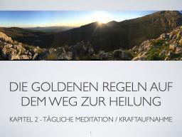 Webinar: Grundlagen Meditation