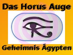 Webinar: Geheimnis Ägypten - Das Horus Auge