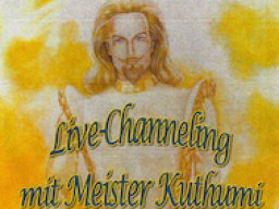 Webinar: Live-Channeling Meister Kuthumi Januar 2018