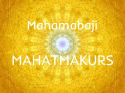 Webinar: MAHATMAKURS I
