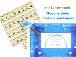 Webinar: Fündig mit Lenormand! Vemisste Gegenstände mit Lenormandkarten aufspüren und finden.